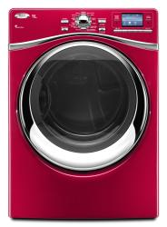 Brand: Whirlpool, Model: WED97HEXR, Color: Cranberry