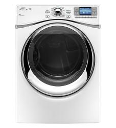 Brand: Whirlpool, Model: WED97HEXL, Color: White