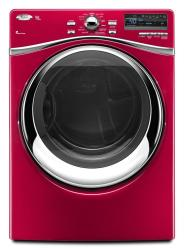 Brand: Whirlpool, Model: WED95HEXL, Color: Cranberry