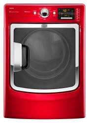 Brand: Maytag, Model: MED6000XW, Color: Crimson