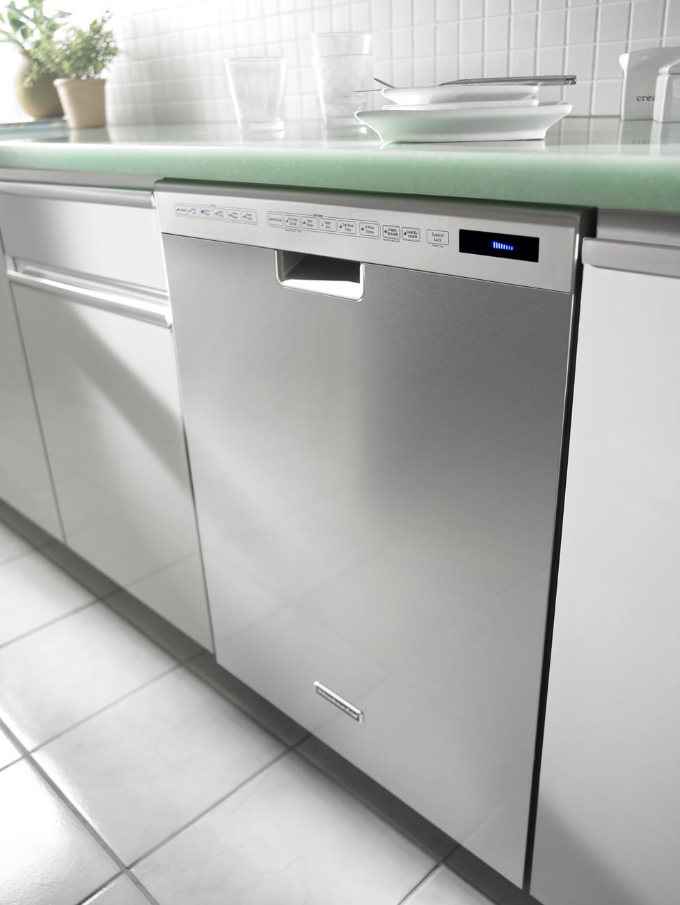 Kude50cxss kitchenaid kude50cxss superba series - Kitchenaid dishwasher not cleaning top rack ...