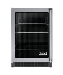 Brand: Viking, Model: VUAR1441FR, Style: Black Interior, Fluted Glass, Left Hinge