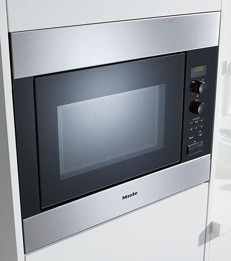 M8260 miele m8260 chef series built in microwave ovens for Built in microwave 24 inches wide