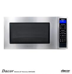 Brand: Dacor, Model: DMW2420S, Color: Stainless Steel