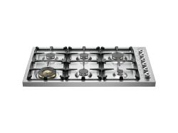 Brand: Bertazzoni, Model: DB36600X, Fuel Type: Stainless Steel