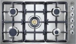 Brand: Bertazzoni, Model: QB36500XLP, Fuel Type: Natural Gas
