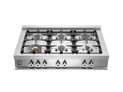 Brand: Bertazzoni, Model: CB36600XLP, Fuel Type: Natural Gas