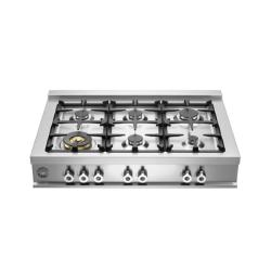 Brand: Bertazzoni, Model: CB36600X, Fuel Type: Natural Gas