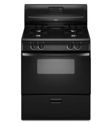 Brand: Whirlpool, Model: WFG114SWT, Color: Black