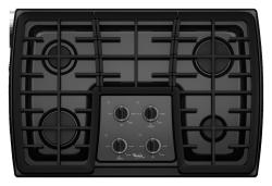Brand: Whirlpool, Model: G7CG3064XB, Color: Black