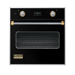 Brand: Viking, Model: VESO127BKBR, Color: Black with Brass Accent