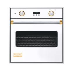 Brand: Viking, Model: VESO127BKBR, Color: White with Brass Accent