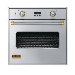 Brand: Viking, Model: VESO130WH, Color: Stainless Steel with Brass Accent