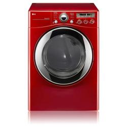 Brand: LG, Model: DLE2350R, Color: Wild Cherry Red