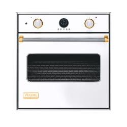 Brand: Viking, Model: VESO5271BR, Color: White with Brass Accent