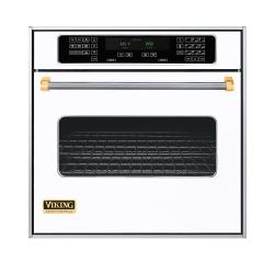 Brand: Viking, Model: VESO130TSS, Color: White with Brass Accent
