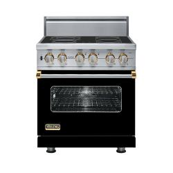 Brand: Viking, Model: VESC5304BBR, Color: Black with Brass Accent