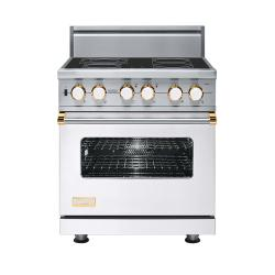 Brand: Viking, Model: VESC5304BBR, Color: White with Brass Accent