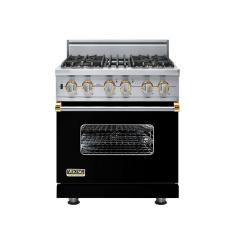 Brand: Viking, Model: VGSC5304BWS, Fuel Type: Black with Brass Accent