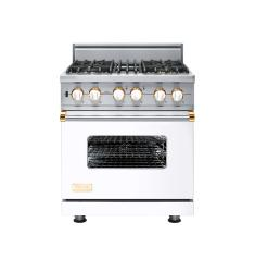 Brand: Viking, Model: VGSC5304BARLP, Fuel Type: White with Brass Accent