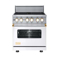 Brand: Viking, Model: VISC5304BSG, Color: White with Brass Accent
