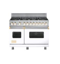 Brand: Viking, Model: VGSC5488BWH, Fuel Type: White with Brass Accent