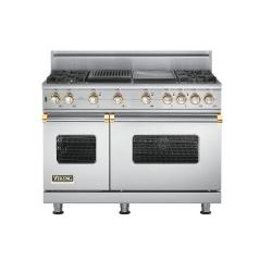 Brand: Viking, Model: VGSC5484GQBKBR, Color: Stainless Steel with Brass Accent