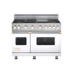 Brand: Viking, Model: VGSC5484GQBKBR, Color: White with Brass Accent
