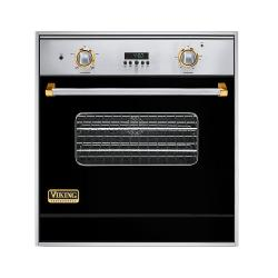 Brand: Viking, Model: VGSO100SSBRLP, Color: Black with Brass Accent