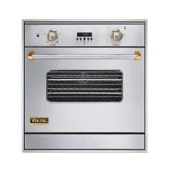 Brand: Viking, Model: VGSO100SSBRLP, Color: Stainless Steel with Brass Accent