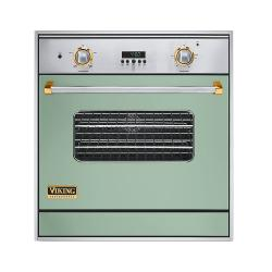 Brand: Viking, Model: VGSO100SSBRLP, Color: Custom Colors with Brass Accent