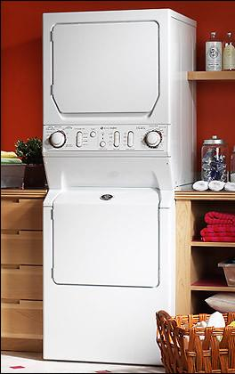Maytag Mle2000ayw 27 Quot Electric Laundry Center With 3 34 Cu