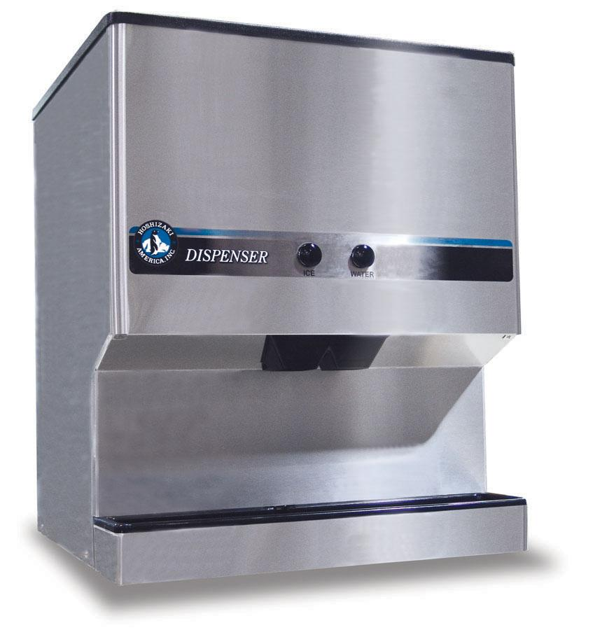 Countertop Ice Machine With Water Line : DM200B Hoshizaki dm200b Ice Makers 200 lb Countertop Ice