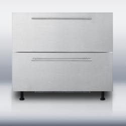 Brand: SUMMIT, Model: BDR190NASSHH, Style: Sleek Modern Handles