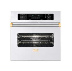 Brand: Viking, Model: VESO5302TBKBR, Color: White with Brass Accent