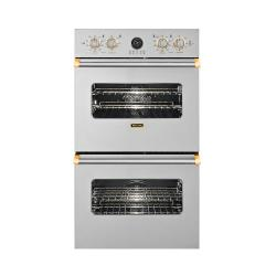 Brand: Viking, Model: VEDO5272WHBR, Color: Stainless Steel with Brass Accent