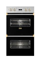 Brand: Viking, Model: VEDO1272WHBR, Color: Black with Brass Accent