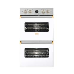 Brand: Viking, Model: VEDO5302SSBR, Color: White with Brass Accent