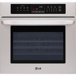 Brand: LG, Model: LWS3010ST, Style: 30 Inch Single Electric Wall Oven
