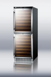 Brand: SUMMIT, Model: SWC1875, Style: 24 Inch Built-in Wine Cellar