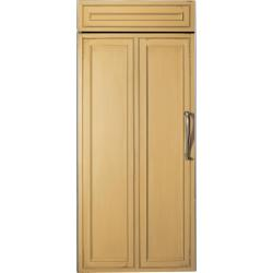 Brand: GE, Model: ZIFS360NXRH, Style: Requires Custom Panel, Left Hinge Swing