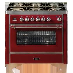 Brand: Ilve, Model: UM906MPM, Color: Burgundy