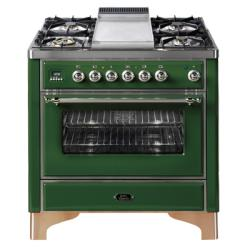 Brand: Ilve, Model: UM90FMPRB, Color: Emerald Green