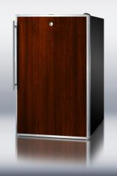 Brand: SUMMIT, Model: CM421BLBIFR, Color: Stainless Steel Frame/Handle (Requires Panel)