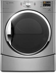 Brand: MAYTAG, Model: MEDE201YL, Color: Lunar Silver