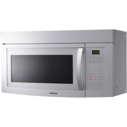 Samsung Smh1611w 1 6 Cu Ft Over The Range Microwave Oven