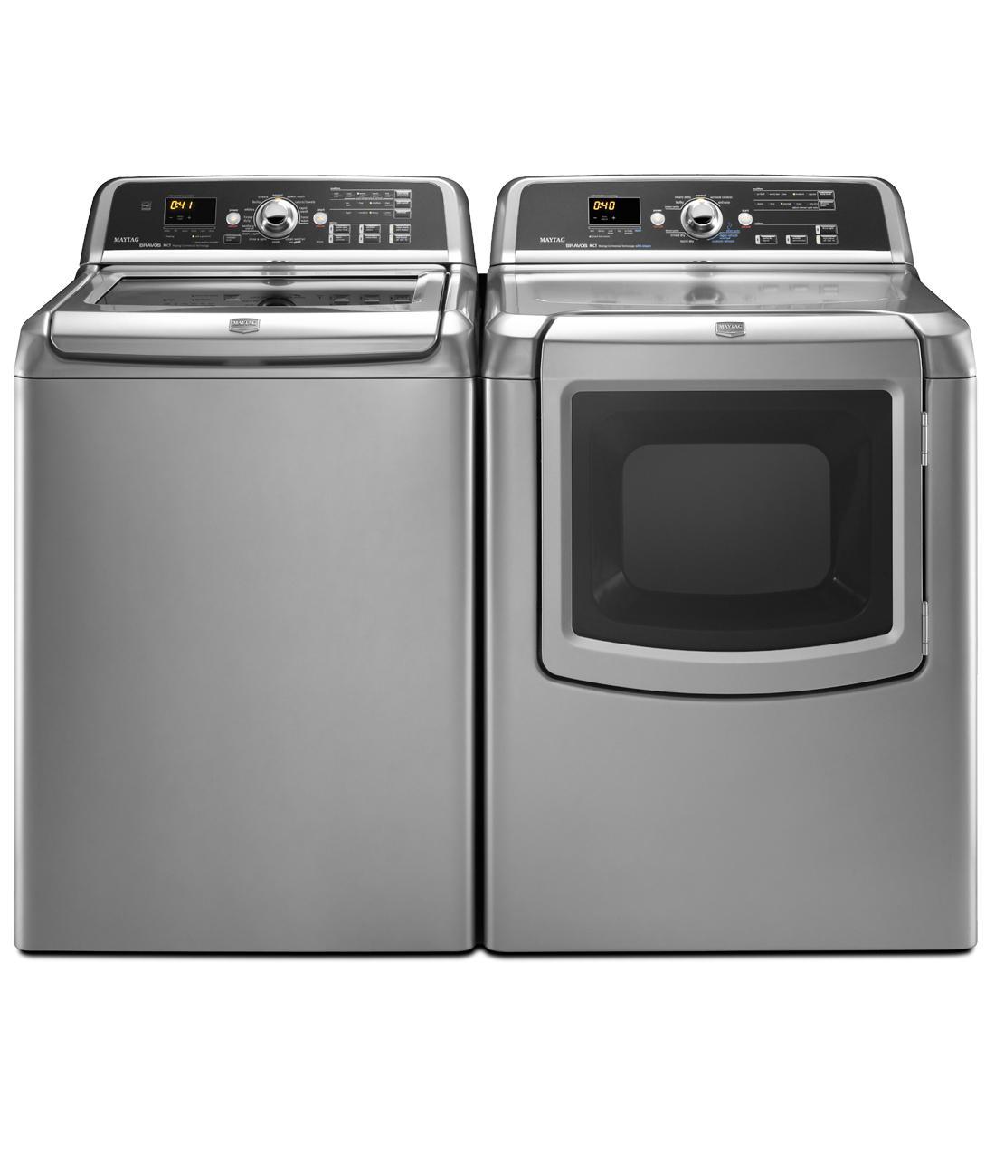 Mgdb850wb Maytag Mgdb850wb Bravos Series Gas Dryers Black