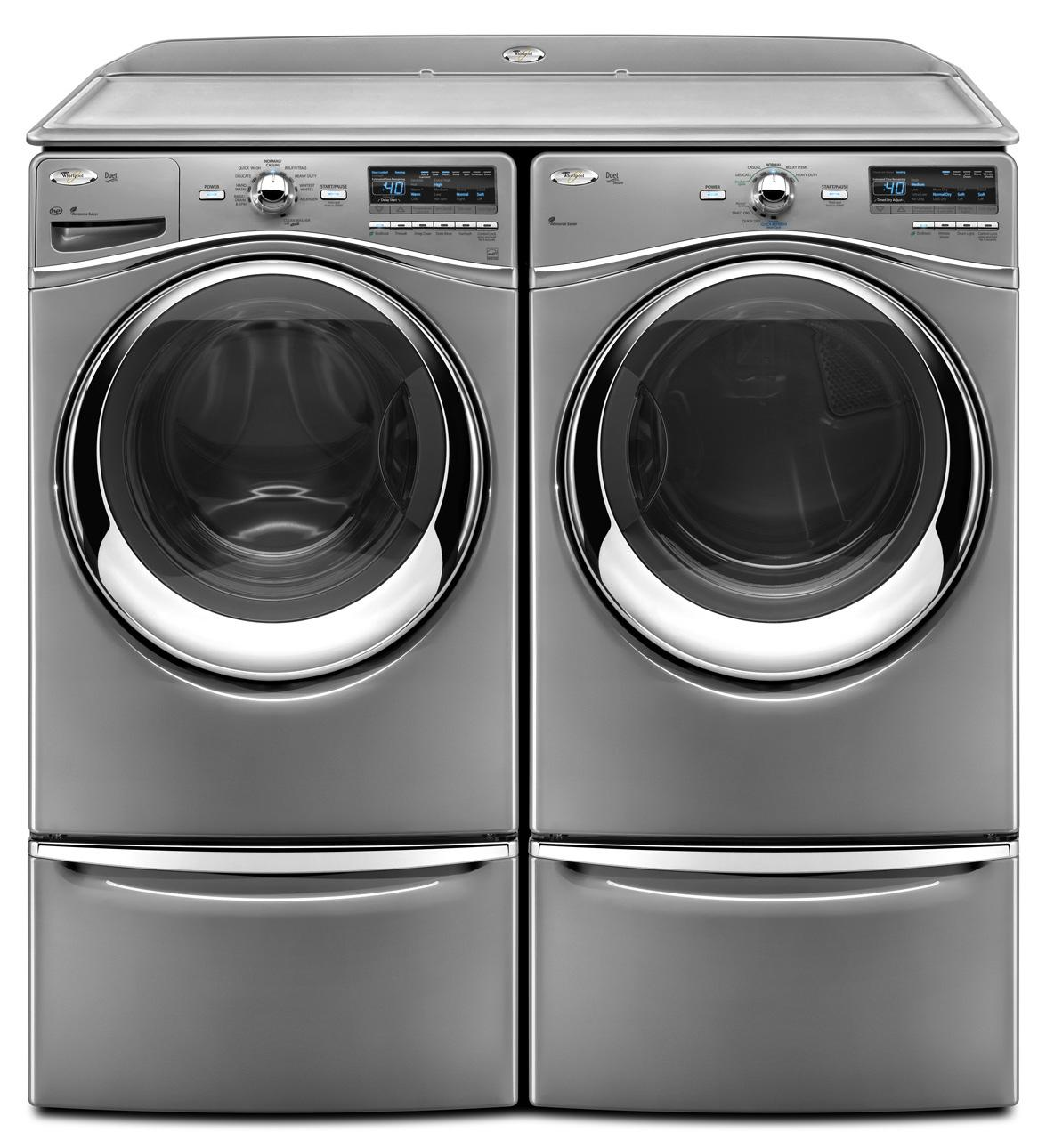 Whirlpool Wfw94hexw 27 Quot Front Load Washer With 4 3 Cu Ft