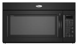 Brand: Whirlpool, Model: YGMH6185XVB, Color: Black