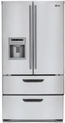 Brand: LG, Model: LMX25964ST, Style: 24.7 cu. ft. 4 Door French Door Refrigerator